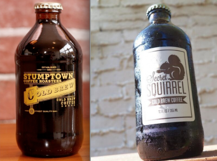 Stumptown on the left, Secret Squirrel on the right.