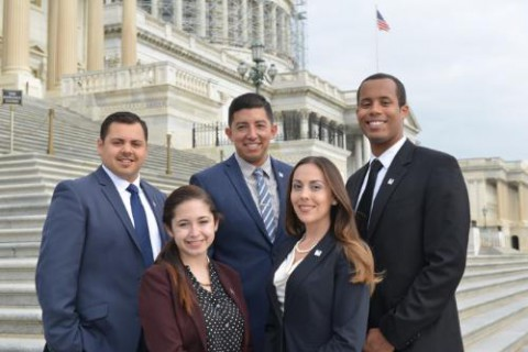 PepsiCo Foundation fellows from The Congressional Hispanic Caucus.