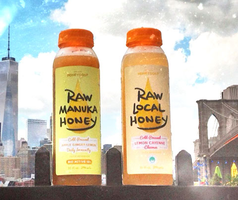 Honeydrop Beverages Launches Cold-Pressed Juice Products Made with Holistic Raw Honey
