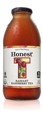 Honest Tea Radiant Raspberry