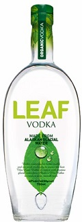 Leaf Vodka bottle