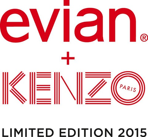 Evian and French Fashion House Kenzo Release Limited-Edition Bottle