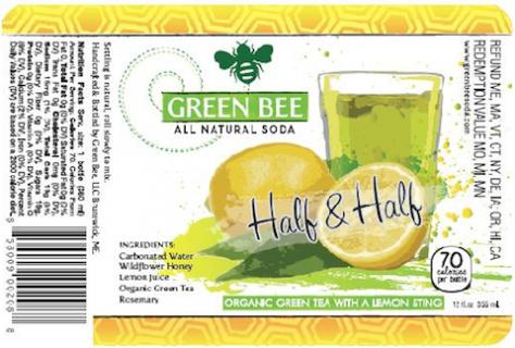 green bee soda 480