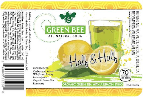 Green Bee Soda to Unveil Half & Half Flavor at Expo East