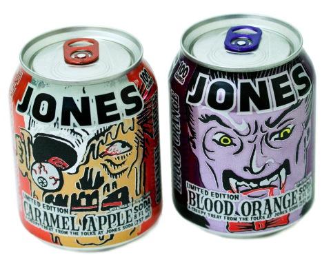 Jones Soda Announces Return of Halloween Flavors