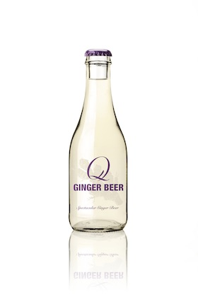 Q Ginger Beer 9oz Bottle