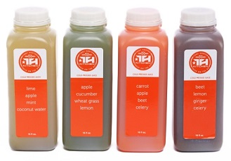 Tony Horton Kitchen cold-pressed juices 2