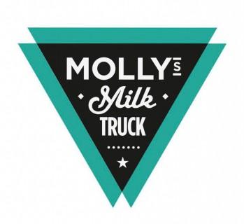 mollys milk truck logo