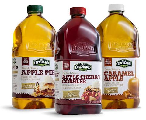 Old Orchard Brands Releases Seasonal Fruit Juice Cocktails