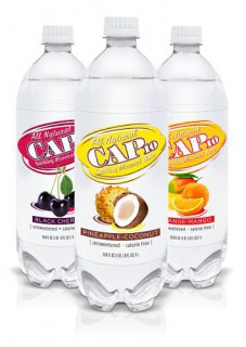 Absopure's New Cap10 All Natural Sparkling Mineral Water Flavors