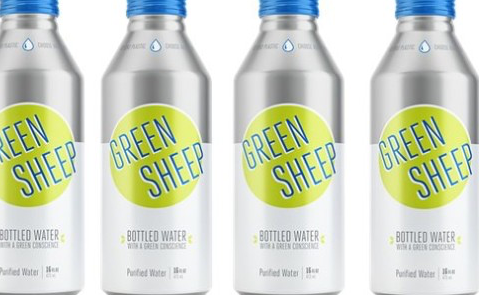Green Sheep Water Launches in Ball's Alumi-Tek Bottle