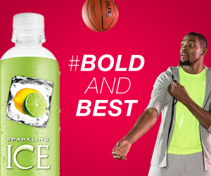 Sparkling ICE Kevin Durant