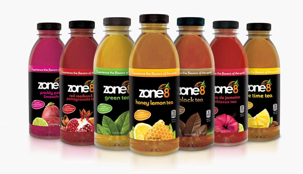 Zone 8 Brings World Flavors to RTD Tea Industry