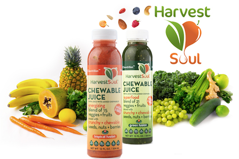 Harvest Soul Chewable Juice Unveils 'HPP Fressurized' Seal