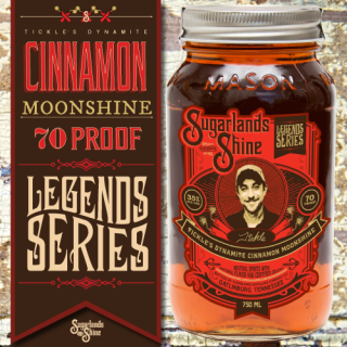 Tickle's Dynamite Cinnamon Moonshine