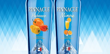 Pinnacle Mimosa Vodka and Pinnacle Habanero Vodka
