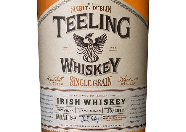 Teeling Announces U.S. Launch of Single Grain Whiskey