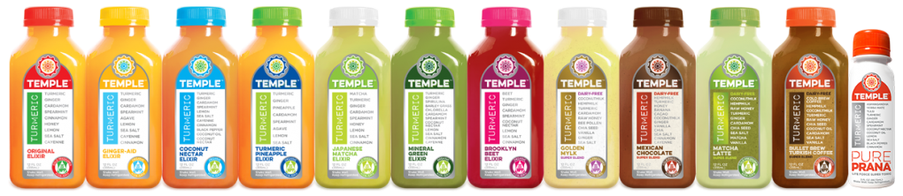Temple Turmeric Family Line