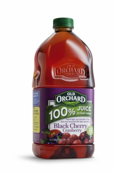Old Orchard Brands Add Black Cherry Cranberry and Mango Tangerine Varieties