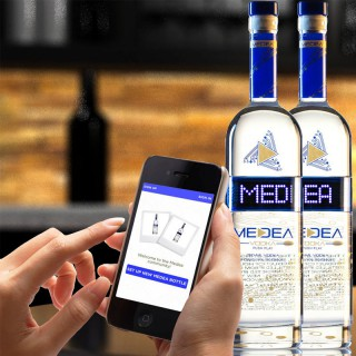MEDEA Vodka Using Apple's iBeacon Bluetooth Technology