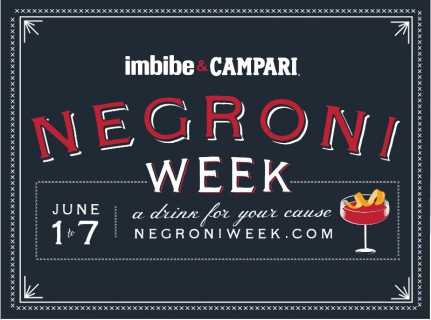 Campari America and Imbibe Negroni Week