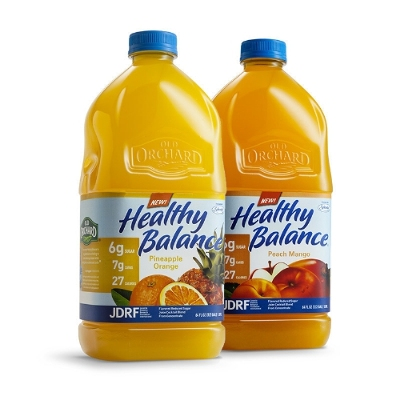Old Orchard Brands Introduces 'Healthy Balance' Juice Line