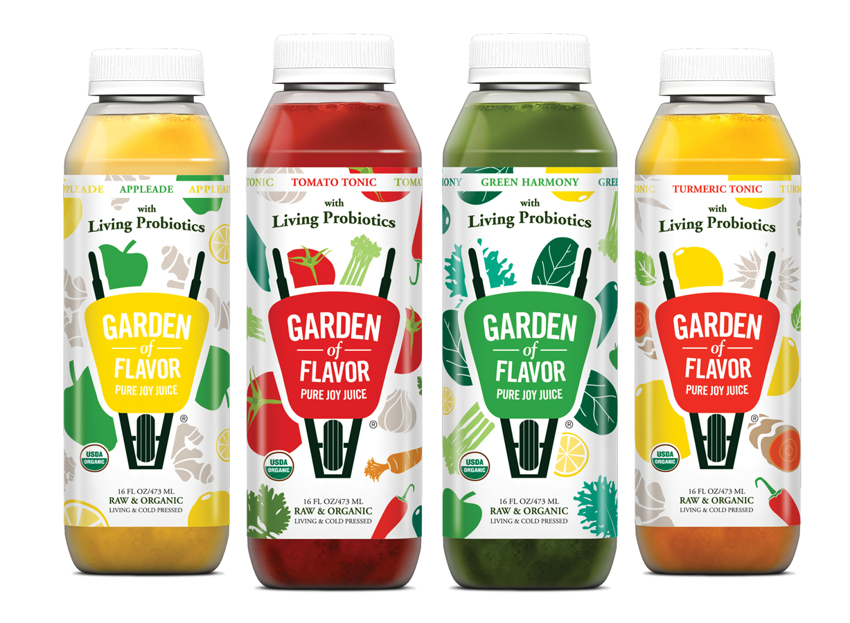Garden Of Flavor Introduces Probiotic Cultures To Four