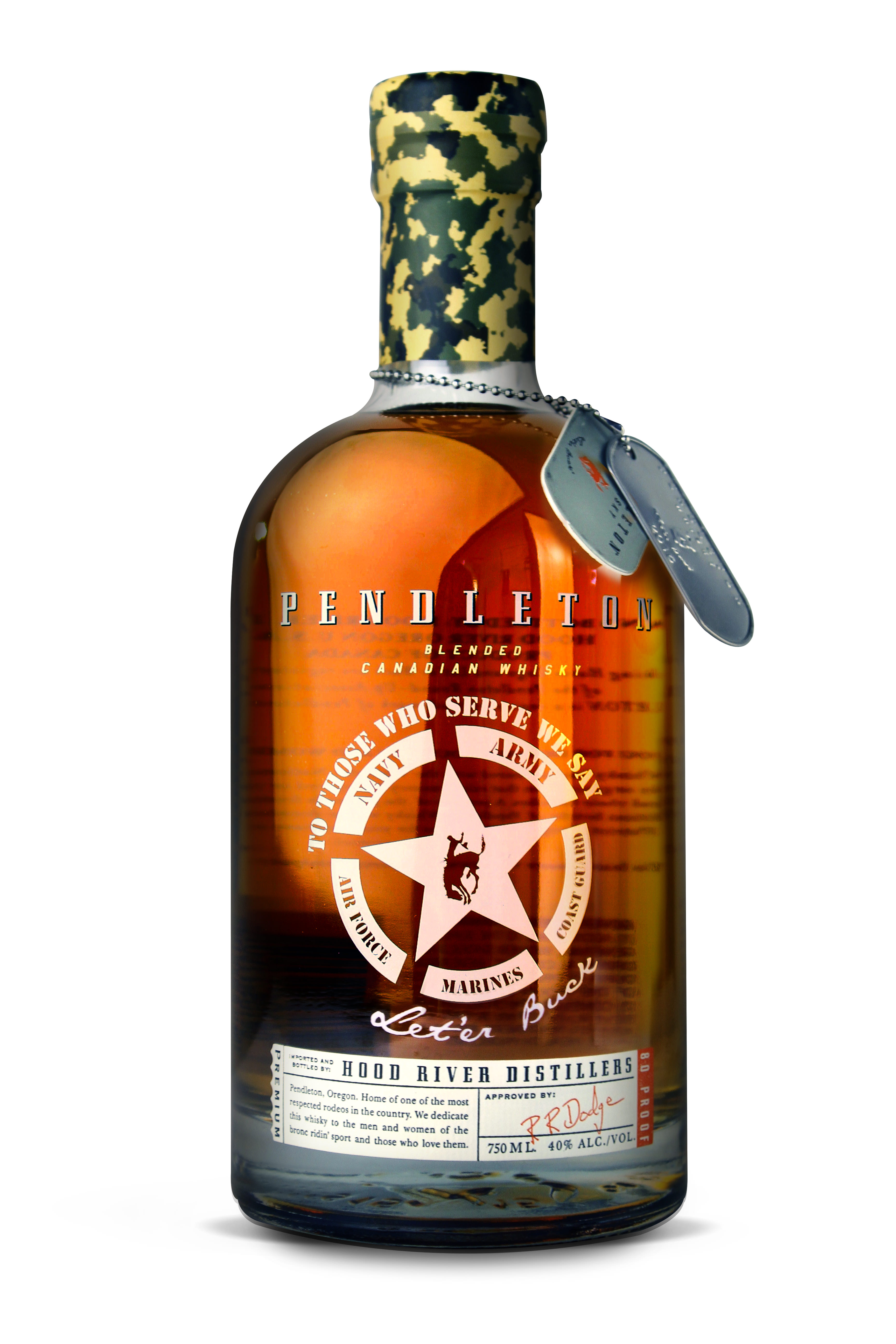 Hood River Distillers Inc Salutes United States Armed