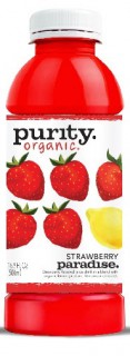 purity organic strawberry paradise