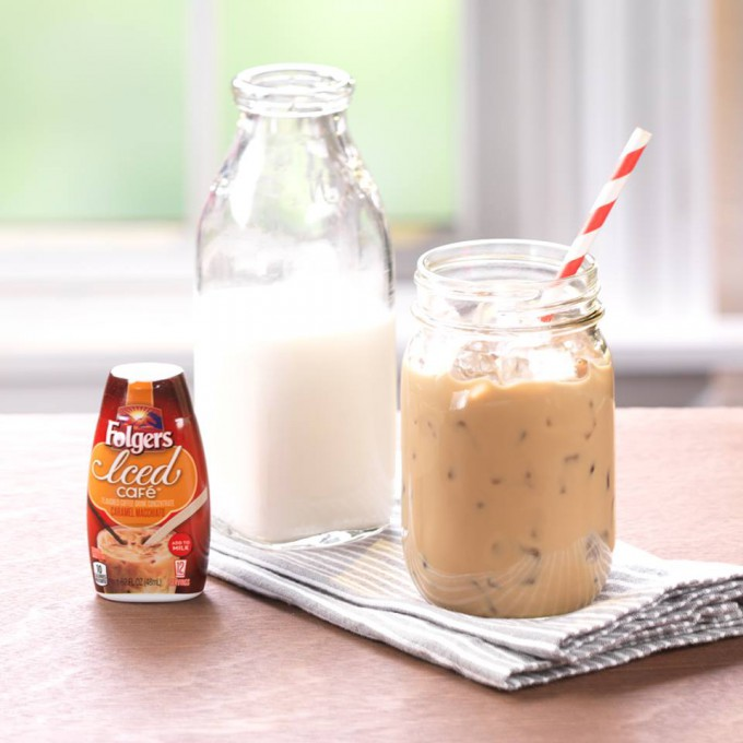 Folgers Introduces Iced Cafe Coffee Drink Concentrates