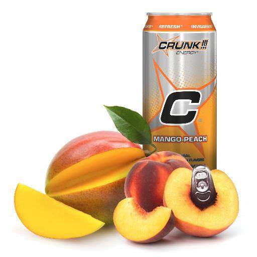 CRUNK!!! Energy Adds Tropical Blast Flavor