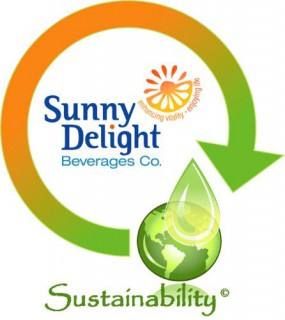 Sunny Delight Beverages Co. Sustainability Logo. (PRNewsFoto/Sunny Delight Beverages Co.)