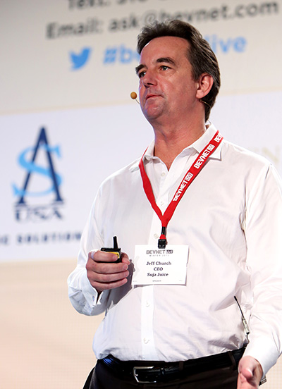 Jeff Church at BevNET Live Winter 2013