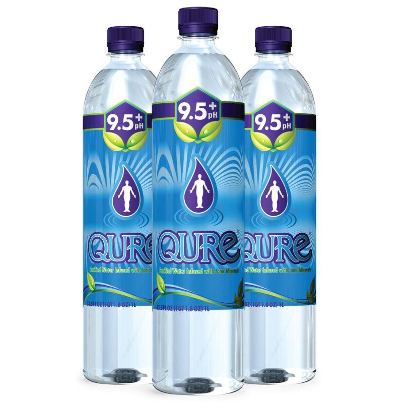 QURE Water Gains Distribution at Earth Fare