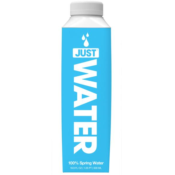 JUST Water Launches at Whole Foods in Tetra Pak's Tetra Top Bottle