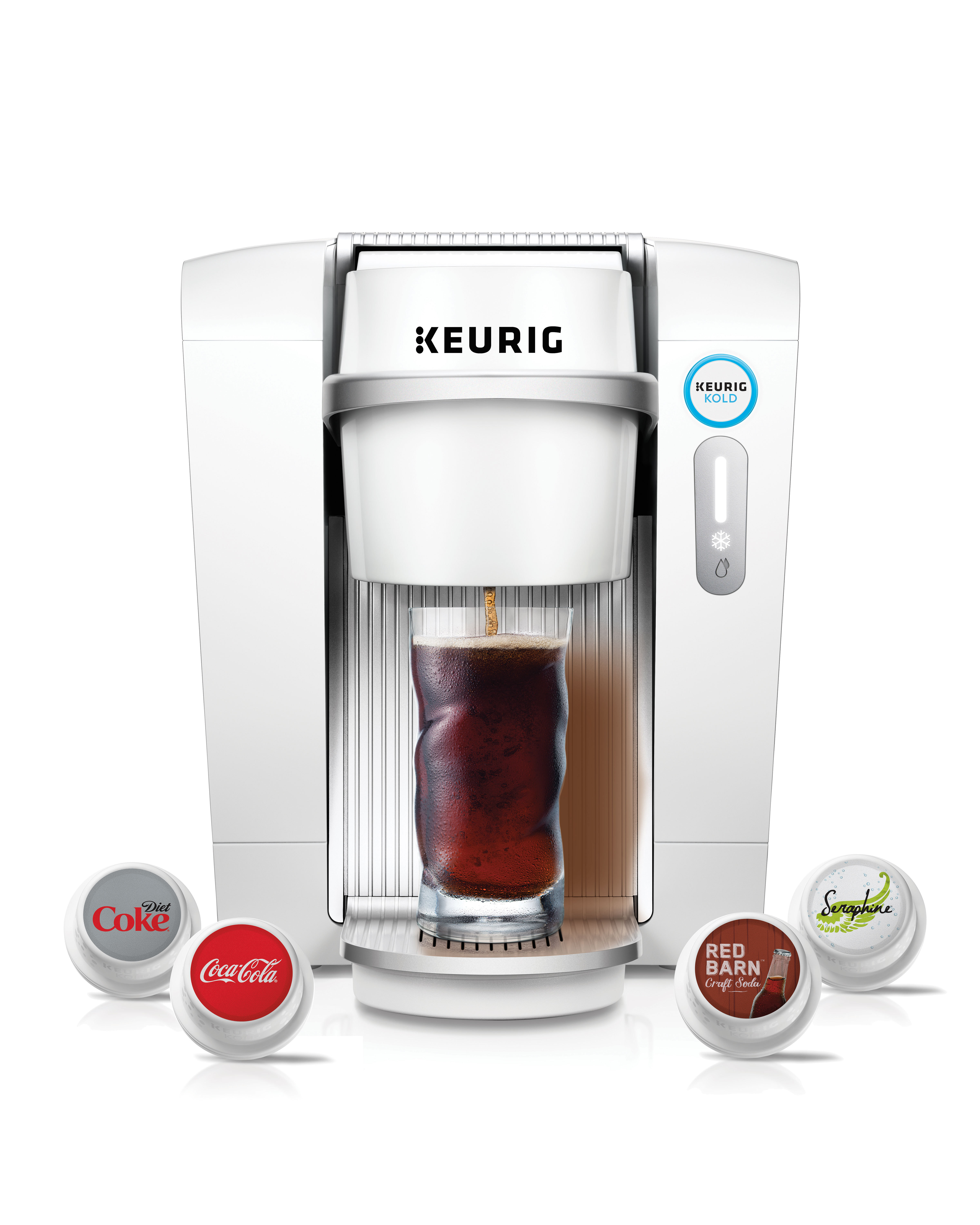 Keurig Launches New Kold Beverage System
