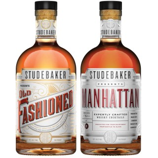 STUDEBAKER(TM) is proud to launch a premium, full-proof, crafted whisky cocktail featuring Prohibition inspired classics including the STUDEBAKER(TM) Old Fashioned and STUDEBAKER(TM) Manhattan. (PRNewsFoto/DIAGEO)