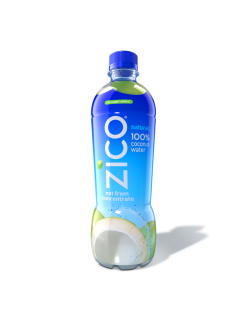 ZICO Drops Coconut Water From Concentrate Swaps HDPE For PET