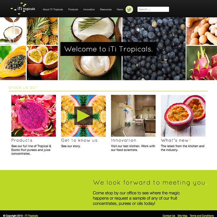 iTi Tropicals Unveils Website Redesign