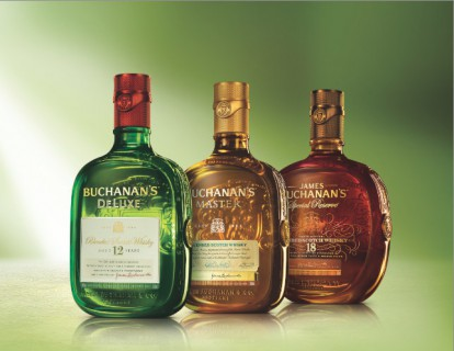Buchanan's Scotch Whisky unveils contemporary new packaging (PRNewsFoto/Buchanan's Scotch Whisky)