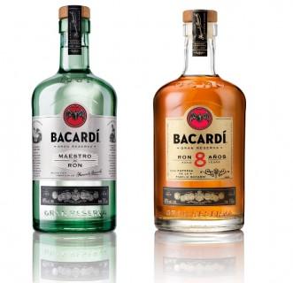 BACARDI Gran Reserva Maestro de Ron and BACARDI Gran Reserva Ocho Anos (PRNewsFoto/Bacardi U.S.A., Inc.)
