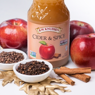 R.W. Knudsen's Cider & Spice Juice Returns for Holiday Season