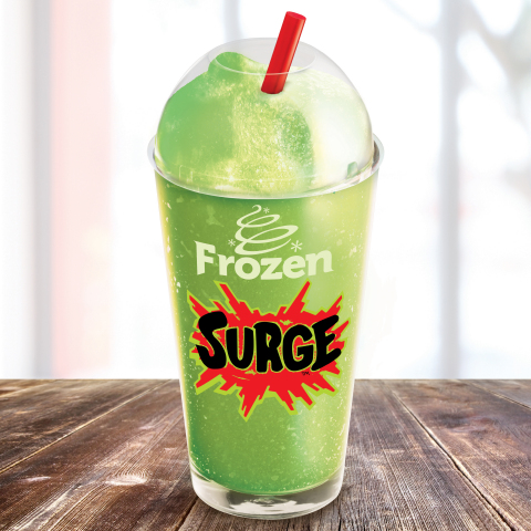 Burger King Introduces Frozen SURGE Nationwide