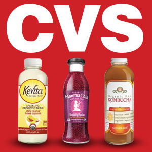 Distribution Roundup: GT's, KeVita, Mamma Chia & Evolution Fresh on CVS Shelves