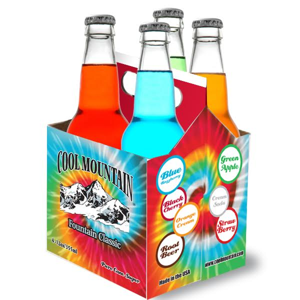 Cool Mountain Beverages Introduces California Peach and Royal Grape Flavors