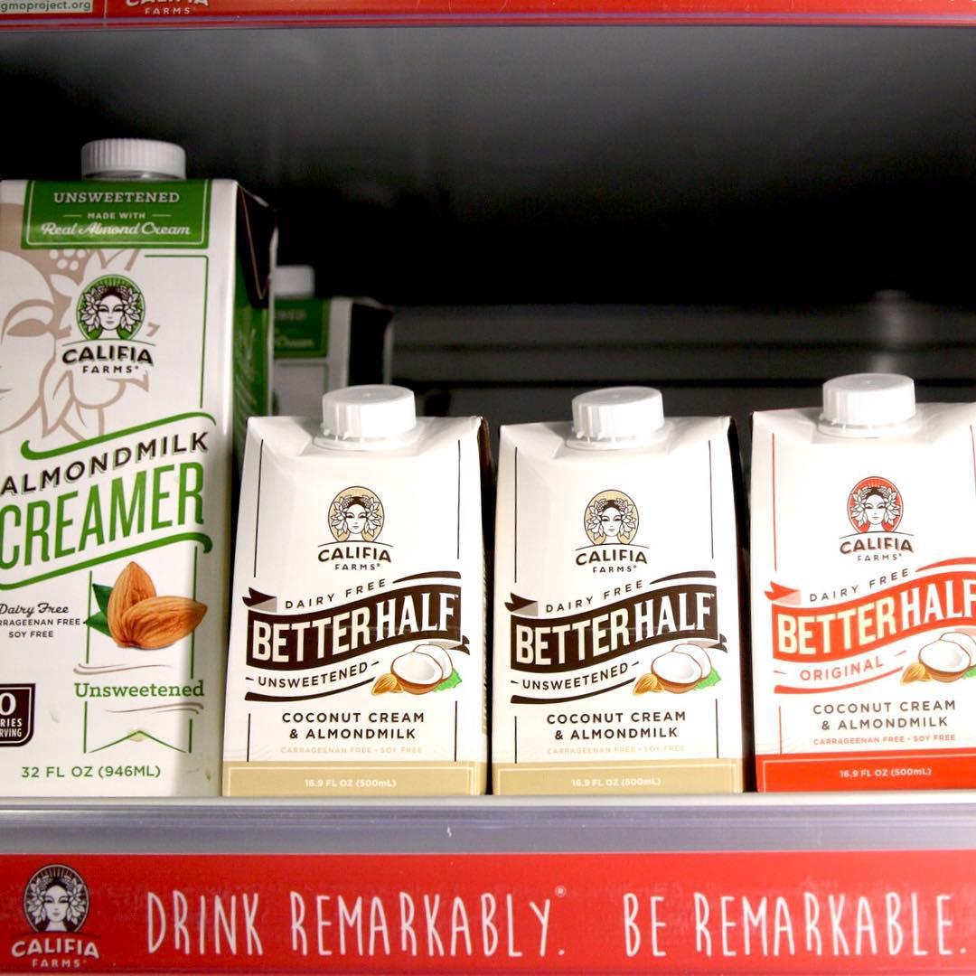 Califia Farms Introduces 'Better Half' Creamers - BevNET com