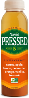 Naked Pressed Carrot