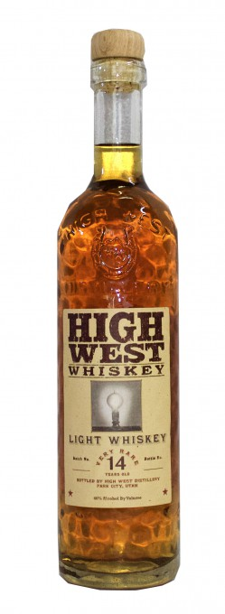 HIGH WEST RELEASES DISTILLERY EXCLUSIVE 14-YEAR LIGHT WHISKEY