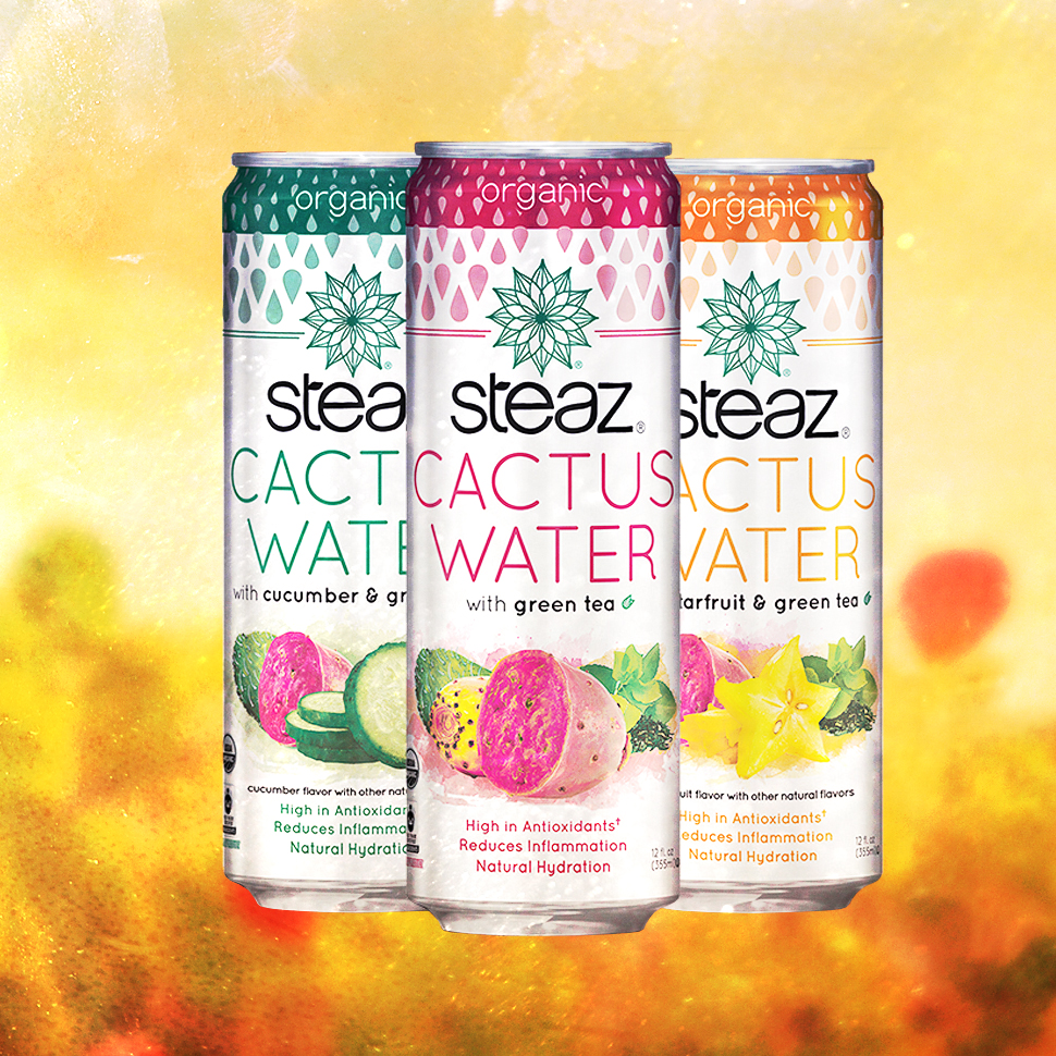 Steaz Cactus Water: On Trend, But Slightly Complicated