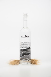 Till Vodka with wheat
